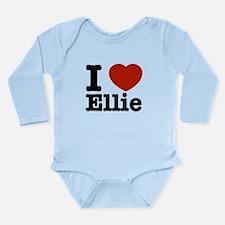 I love Ellie Long Sleeve Infant Bodysuit
