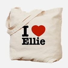 I love Ellie Tote Bag