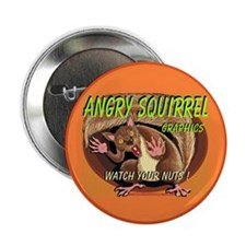 "AAA Squirrel - 2.25"" Button (100 pack)"