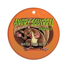 AAA Squirrel - Ornament (Round)