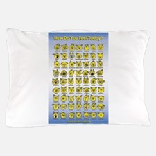 How Do You Feel Today? Pillow Case