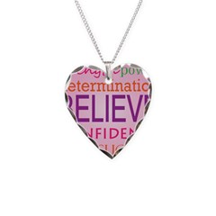 Motivating Words Necklace