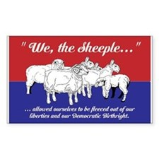 """""""We the Sheeple..."""" Decal"""