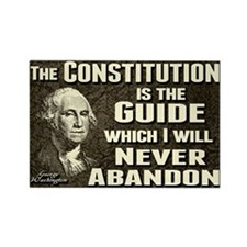 Washington Quote - Constitution Rectangle Magnet