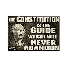 Washington Quote - Constitution Rectangle Magnet