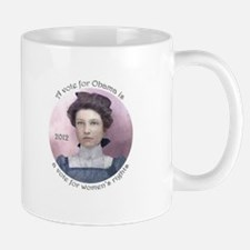 Vote Obama for Women's Rights Mug