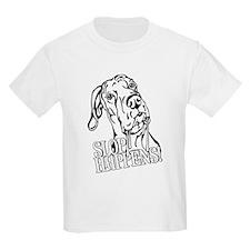 Slop Happens UC B&W T-Shirt
