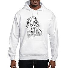 Slop Happens UC B&W Hoodie Sweatshirt