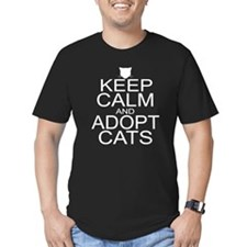 Keep Calm and Adopt Cats T