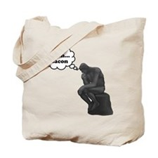 Mmm Bacon Thinker Tote Bag