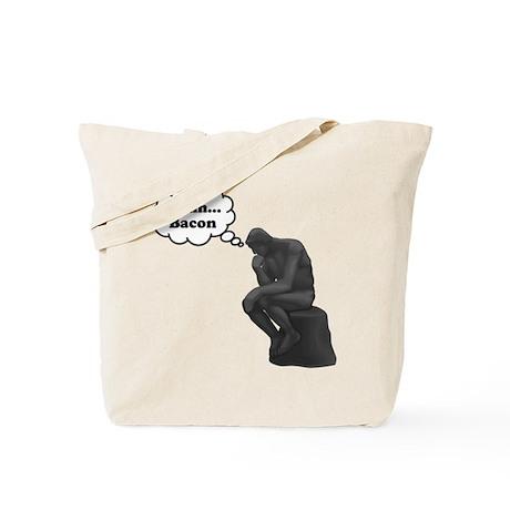 Mmm Bacon Thinker Tote Bag
