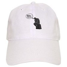 Mmm Bacon Thinker Baseball Cap