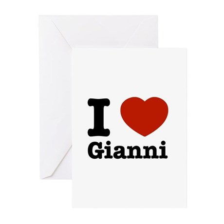 I love Gianni Greeting Cards (Pk of 20)