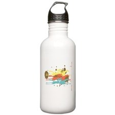 Horse racing Party Water Bottle
