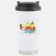 Horse racing Party Stainless Steel Travel Mug