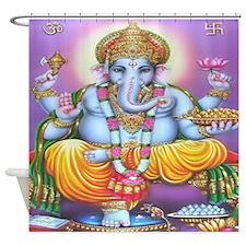 Ganesh Shower Curtain
