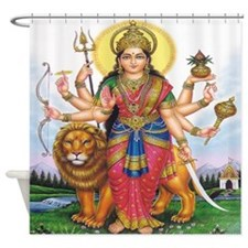 Bhagwati Shower Curtain