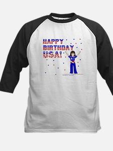 Happy Birthday USA Kids Baseball Jersey