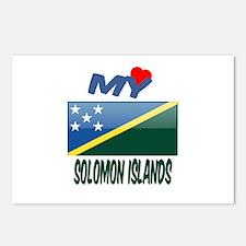 My Love Solomon Islands Postcards (Package of 8)