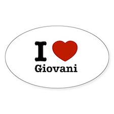 I love Giovani Decal