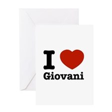 I love Giovani Greeting Card