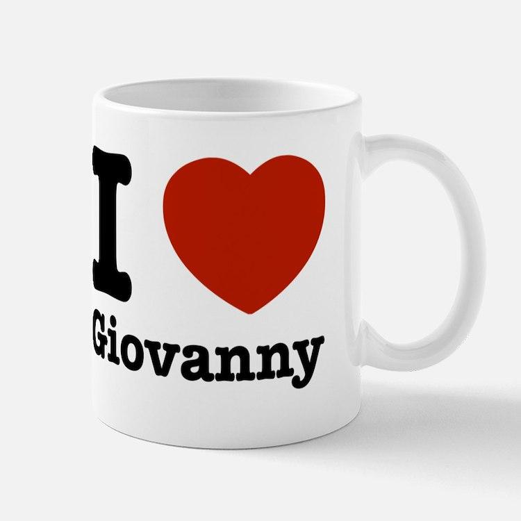 I love Giovanny Mug