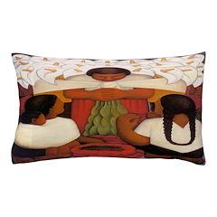 Mexican Flowerseller Pillow Case