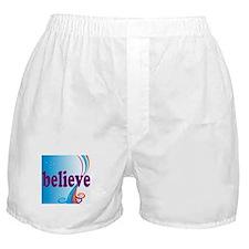 Believe-swirls Boxer Shorts