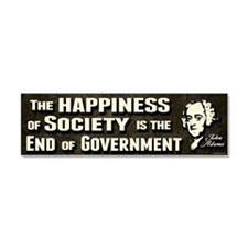Adams Quote - End of Government Car Magnet 10 x 3