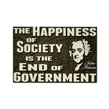 Adams Quote - End of Government Rectangle Magnet