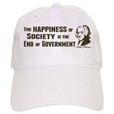 Adams Quote - End of Government Baseball Cap