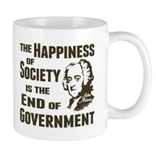 Adams Quote - End of Government Mug