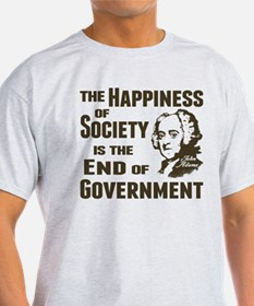 Adams Quote - End of Government T-Shirt