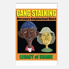 Ma and Pa Gang Stalking Postcards (Package of 8)