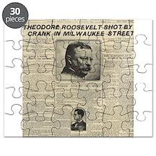 Theodore Roosevelt Shot! Puzzle