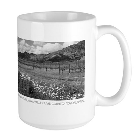 Silverado Trail Wine Country Gifts Large Mug