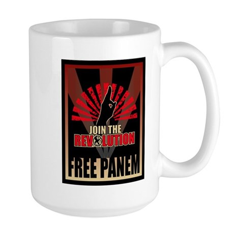 Revolution Free Panem Gifts Large Mug