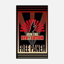 Revolution Free Panem Gifts Sticker (Rectangle)