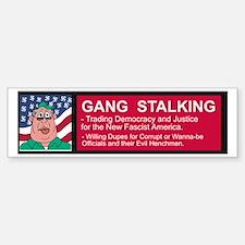 GS Flag Nazi Bumper Bumper Sticker
