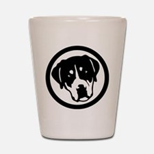 Greater Swiss Mountain Dog Shot Glass