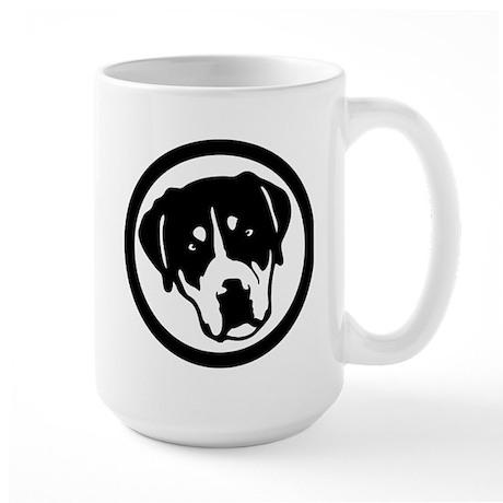 Greater Swiss Mountain Dog Large Mug