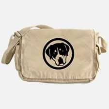 Greater Swiss Mountain Dog Messenger Bag
