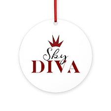 """Sky Diva""  Ornament (Round)"