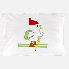 Skier Pillow Case