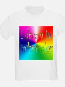 Dream in Technicolor Kids T-Shirt