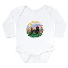 Guardian-PWD2blk Long Sleeve Infant Bodysuit