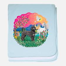FantasyLand-PWD(Blk) baby blanket