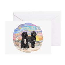 OceanSunrise-TWO PWDs Greeting Card