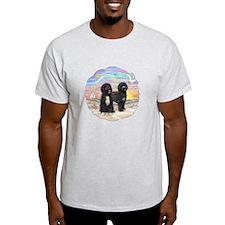 OceanSunrise-TWO PWDs T-Shirt