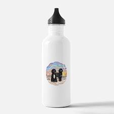 OceanSunrise-TWO PWDs Water Bottle